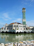 Floating Mosque on Penang island, Malaysia. Floating Mosque of Tanjung Bungah, Penang island, Malaysia Stock Images
