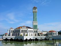 Floating Mosque, Penang, Malaysia Royalty Free Stock Image