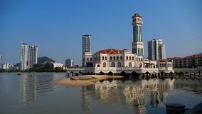 The Floating Mosque Stock Images