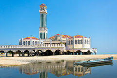 Floating mosque of Tanjung Bungah in Penang Stock Image