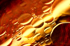 Floating Oil colors Stock Photo