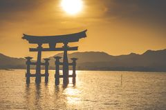 The Floating Otorii gate  Stock Photos