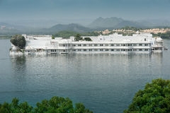 Floating Palace, Udaipur, India. The so-called Floating Palace, or Summer Palace immediately adjacent to the Royal Castle or Palace of Udaipur, Rajasthan India royalty free stock photos