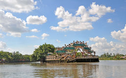 Floating Pearl Temple, Ho Chi Minh City. Royalty Free Stock Image