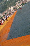 The Floating Piers Royalty Free Stock Photo