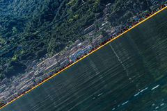 The Floating Piers Stock Image