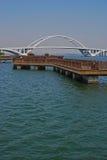 Floating Platform with Bridge in Xiamen Royalty Free Stock Photos