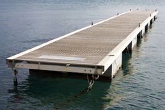 Floating pontoon Royalty Free Stock Images