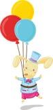 Floating Rabbit Royalty Free Stock Photography