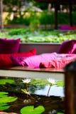 Floating restaurant Stock Images