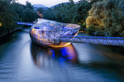 A floating Restaurant. Royalty Free Stock Photo