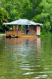 Floating Small Restaurant Royalty Free Stock Photo