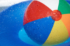 Free Floating Tire And Beach Ball In The Pool Royalty Free Stock Images - 56638329