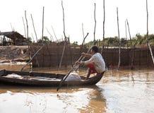 floating village Stock Images