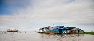 Floating village, Cambodia Royalty Free Stock Image