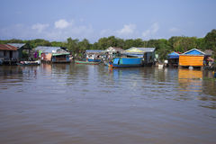 Floating village, Cambodia Stock Photography
