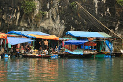 Floating Village Stock Images