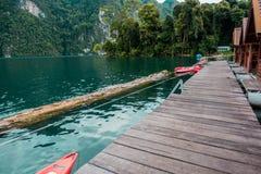 Floatinghouse in der Natur Stockfotografie