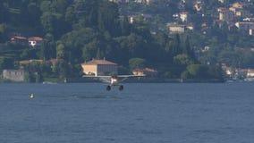 Floatplane het Opstijgen stock video