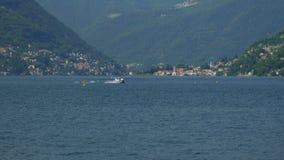 Floatplane landning stock video