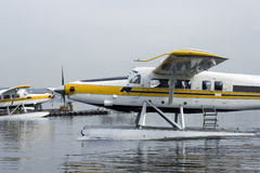 Floatplane port Royalty Free Stock Images