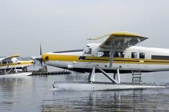 Floatplane port Royalty Free Stock Images