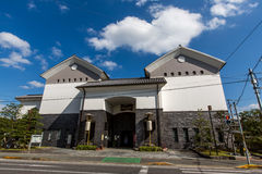 Floats Clubhouse Iga Ueno Castle Japan. Building Royalty Free Stock Images