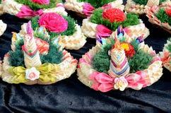 Floats for Loi Krathong Royalty Free Stock Photos