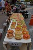 Floats for Loi Krathong Stock Photo