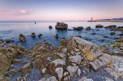 Flocculo de la reserve, Nizza, Francia Fotografie Stock Libere da Diritti