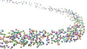 Flock av lotteribollen stock illustrationer