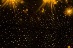 A flock of lights royalty free stock photos