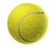 Flockige Tenniskugel Lizenzfreie Stockbilder