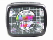 Flockiger Fernsehapparat Lizenzfreie Stockfotografie