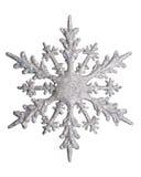 Floco branco da neve Imagem de Stock Royalty Free