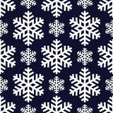 Floco de neve abstrato decorativo seamless Imagens de Stock Royalty Free