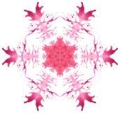 Floco de neve bonito do vetor Imagens de Stock Royalty Free
