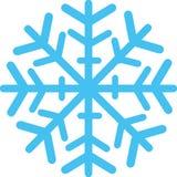 Floco de neve com detalhes ilustração royalty free