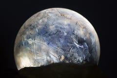 Floco de neve do globo da neve do Natal Imagens de Stock