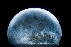 Floco de neve do globo da neve do Natal Imagens de Stock Royalty Free