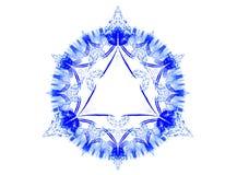 Floco de neve do Xmas Imagem de Stock