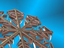 Flocon de neige. Images stock