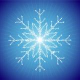 flocon de neige Illustration de Vecteur