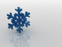 flocon de neige photo stock