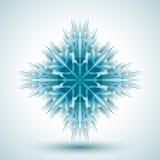 Flocon de neige abstrait Photos stock