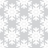 Flocon de neige abstrait décoratif seamless Image stock