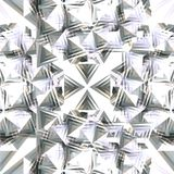 Flocon de neige argenté Images libres de droits