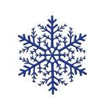 Flocon de neige décoratif image libre de droits