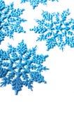 Flocon de neige décoratif Photographie stock