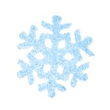Flocon de neige décoratif de Noël Image stock